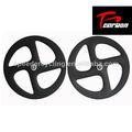 Cojinete de cerámica de carbono total, 4 radios de la rueda, de fibra de carbono rueda de bicicleta