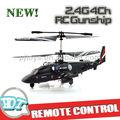 2.4g 4ch helicóptero del rc, 2.4g 4ch cañonera del rc, del rc 4ch helicóptero