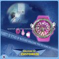 CC-66 de la venta directa al por mayor de relojes de la palmada / Aceptar Personalización / Cuarzo / Slap Watch / reloj del ion