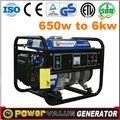 2014 mini generador de la gasolina generador portátil para la venta zh950b