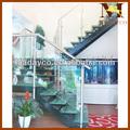 Vidrio de acero escaleras/escalera