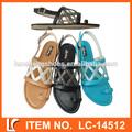de alta calidad dedo del pie abierto de suela blanda sandalias mujer