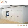Diseño nuevo y moderno de muebles de dormitorio armario, ruedas para puertas correderas de armario