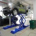 Scissor la elevación del coche con 3200 kg de capacidad de elevación y de fácil control de la certificación CE