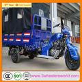 china fabricante de mejor precio 250cc refrigerado por agua del ciclomotor motorizado triciclo de carga carro para la venta