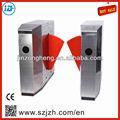 304 açoinoxidável led indicador de direção pedestrain porta retrátil barreira retalho