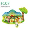 De madera 3d puzzles/rompecabezasindergarten-