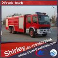 6*4 utilizados caminhões de bombeiros, espuma do tanque do caminhão de incêndio, fire dimensão do caminhão de howo sinotruk
