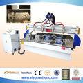 3d bois machine de découpe cnc avec 4 ensemble. dispositif rotatif