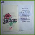 Personalizado impreso teñidos a mano de seda de la cinta/chino de seda cinta de baile