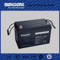 sistema de voltios 12 gel de energía fotovoltaica 12v 100ah de la batería