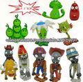 (Acepte paypal) 4.5-6cm Plants vs Zombies juegos pvc de la historieta del anime figuras juguetes modelo proveedor