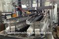 de plástico del pe corrugado de pared simple tubo de máquinas de producción