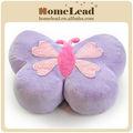 divertido personalizado en forma de mariposa de la felpa emoji almohadas