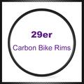 35mm ancho de carbono clincher 29er llantas de carbono mtb llantas tubeless 29 mountain bike ruedas