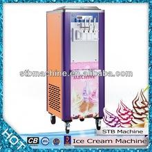 2014 hecho en china un rendimiento confiable comercial completo crema de hielo de la máquina para la venta