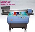 De gran formato digital uv de cama plana de la máquina de impresión para el metal, de aluminio, pvc, cerámica, de madera, etc