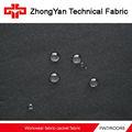 impermeable y transpirable tela a prueba de viento lechoso recubierto de tela