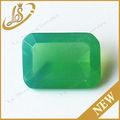 el precio de fábrica de leche octágono de cristal verde de piedras preciosas