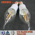 De la buena calidad e14 2w caliente de la venta de luz led de luz de vela de suministro
