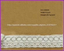 Alta calidad cinta de encaje de algodón