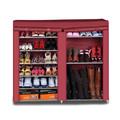 gran moderno gabinete de calzado funcional zapatero diseños de madera