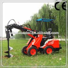 agrícola del cargador dy620 pequeña granja tractor cargador para la venta