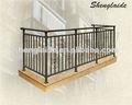 Barandillas de los balcones de hierro mayorista H-9010
