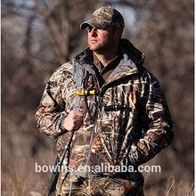 mais recente exterior forro do velo camo casaco caçar