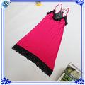 Transparente vestido de noche atractivo para las mujeres