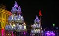 2014 shopping festival bandeja projeto da árvore de natal gigante da árvore de luz