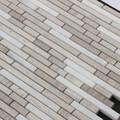 la decoración de piedra de mármol del mosaico de la tira