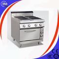 la sección 4 placa cuadrada eletric estufa con horno
