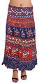 algodón señoras indio envolvente faldas largas faldas envolver
