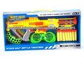 juguetes blandos aire de la pistola de bala suave pistola de juguete juego de disparos de arma EVA suave