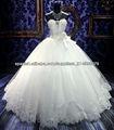 balón vestido de novia vestido de blanco de talla 2013