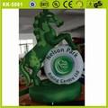sayok verde productos de publicidad inflable gigante de carreras de caballos para adultos