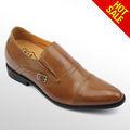 los hombres de cuero de zapatos de china
