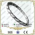 316l magnética de acero inoxidable rastaclat joyas pulsera de importación de china de joyería