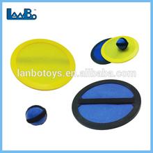 los niños de plástico personalizada de velcro captura juego de pelota