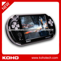 "Portable handheld 5"" dual core android WIFI game player with dual camera"
