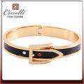 Brazalete de oro pulseras de modelos para las mujeres