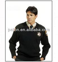 Baratos de guardia de seguridad ropa de trabajo uniforme, caliente bs8013-a uniforme de estilo