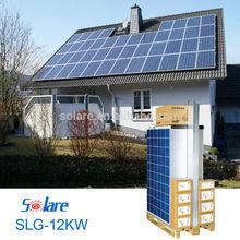 mejor la energía solar para el hogar sistema 12kw