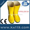 de color amarillo resistente a productos químicos amarillo botas de seguridad botas de bombero