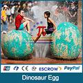 JLDE-010 huevo de dinosaurio artificial para los niños parque infantil