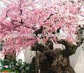 fabricante de antigas paisagismo artificial grande flor de cerejeira rosa tree decoratio interior