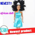 2014 negro nueva muñeca de niña muñeca africano