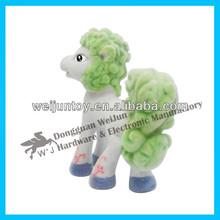 De buena calidad no tóxicos de plástico figura animal juguetes, pequeño juguete del caballo