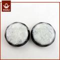 Fábrica de China el abrigo blanco botones